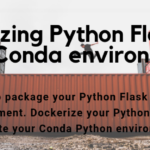 Dockerizing Flask and conda